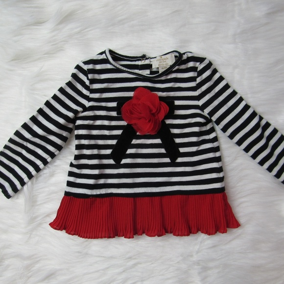 9a7eeae3a kate spade Shirts & Tops | New York Baby Girl Top Sz 18 Mths B ...